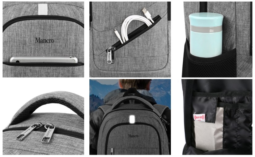 More Details about Travel Laptop Backpack