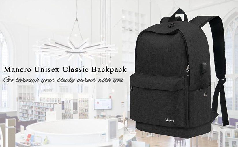Mancro Unisex classic Backpack
