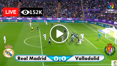 Photo of Real Madrid vs Valladolid Live Score 30 Sep 2020