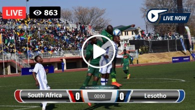 Photo of South Africa vs Lesotho Live Football Score 13-07-2021