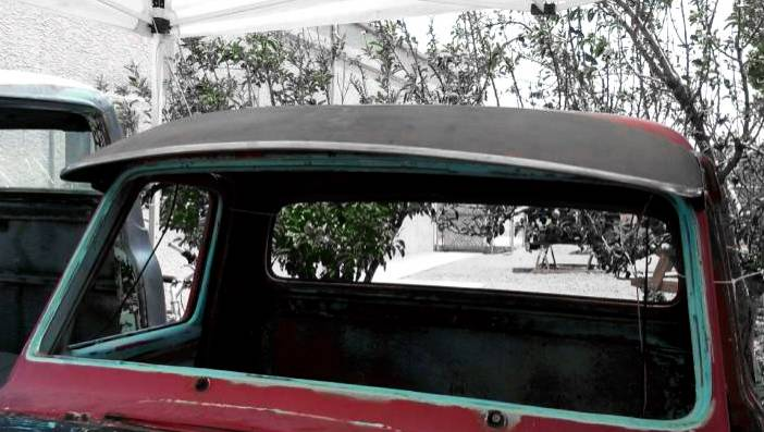 1953 55 Ford F 100 Outside Sunvisor Steel With Brackets