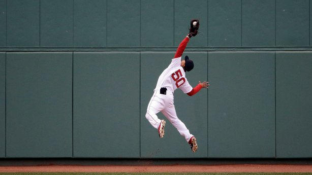 Image result for mookie betts catch