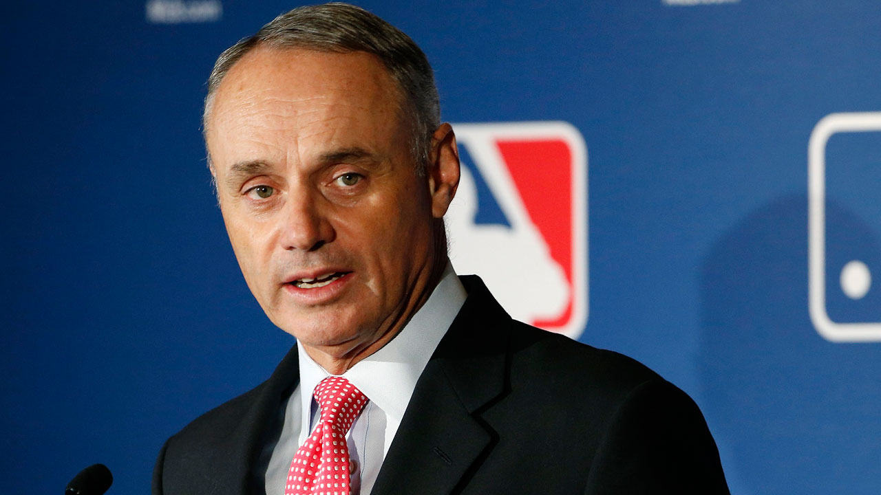 Image result for rob manfred