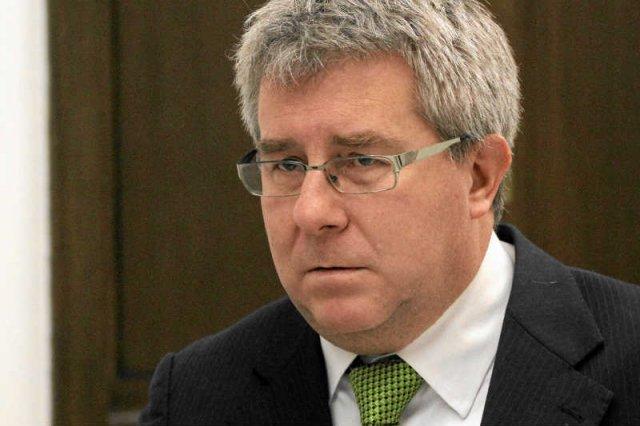 Ryszard Czarnecki, najwierniejszy żołnierz prezesa, został bez posady w nowym układzie władz.
