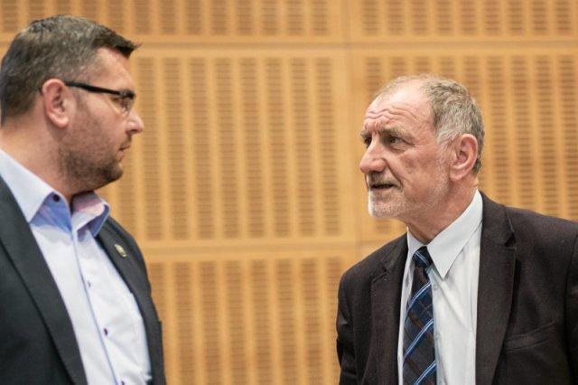 Ojciec prezydenta, Jan Tadeusz Duda (z prawej) jest radnym sejmiku małopolskiego.