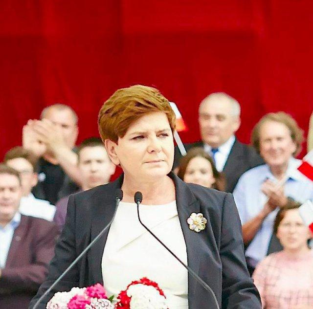 Beata Szydło wystąpiła na konwencji programowej PiS.