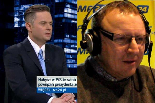 """Adam Hofman i Jacek Kurski to """"zielone ludziki"""" prezesa Kaczyńskiego."""