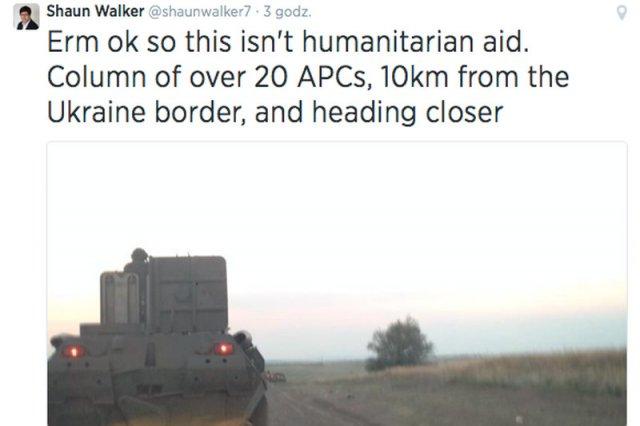 """Rosjanie przekraczają ukraińską granicę. """"Ukryta inwazja zamienia się w otwartą"""""""