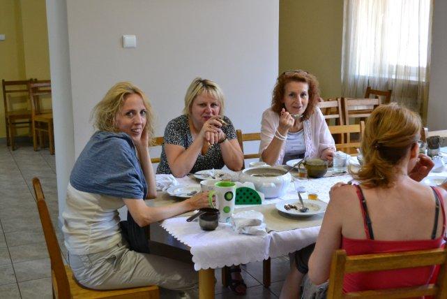 Uczestnicy rekolekcji z dietą według św. Hildegardy