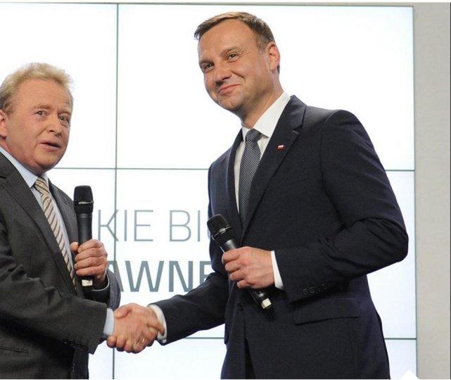 Janusz Wojciechowski i Andrzej Duda