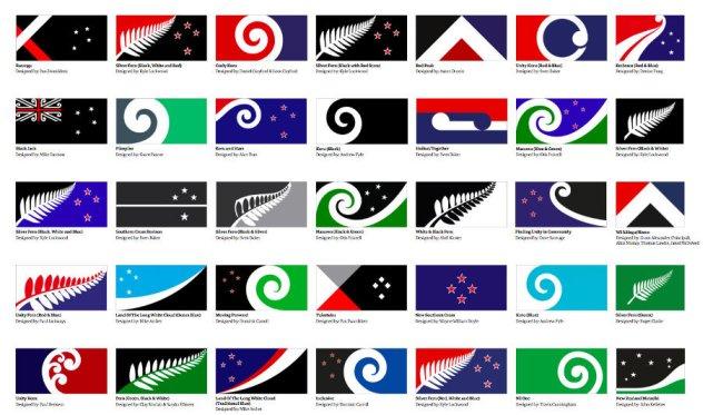 Projekty nowej flagi.