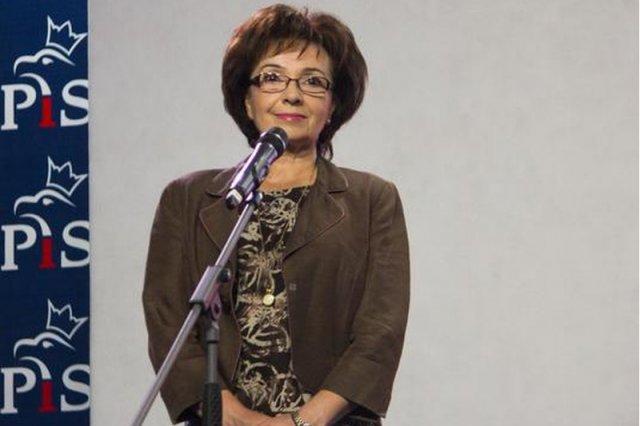 Elżbieta Witek, nowa rzecznik Prawa i Sprawiedliwości.