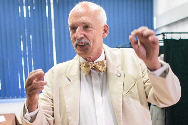 Tym razem Janusz Korwin-Mikke wypowiedział się na temat edukacji seksualnej
