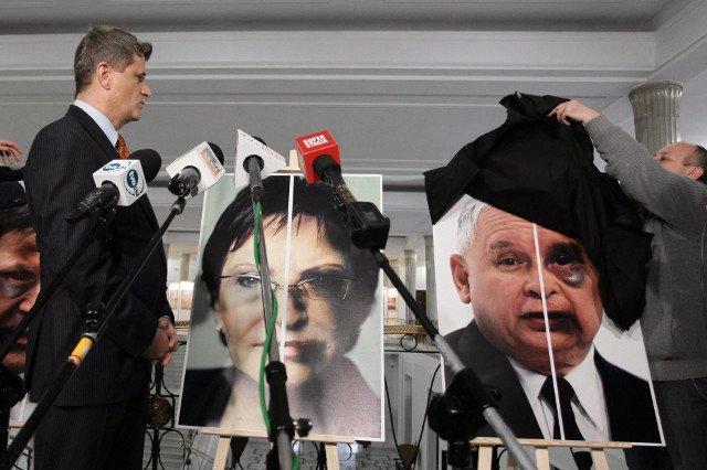 Oficjalna prezentacja plakatów odbyła się w Sejmie