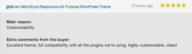 metro style wordpress theme review