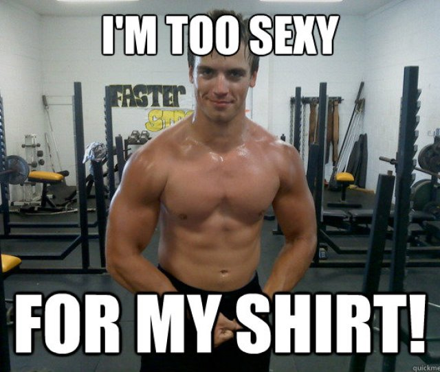 Im Too Sexy For My Shirt Misc Quickmeme