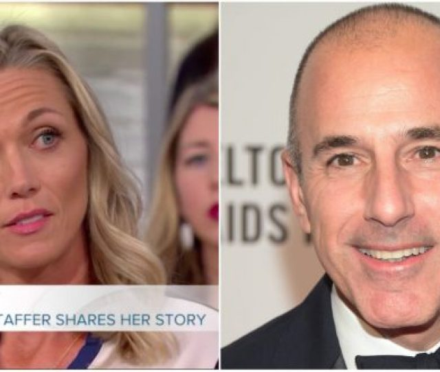 Former Today Show Staffer Says Relationship With Matt Lauer An Abuse Of Power