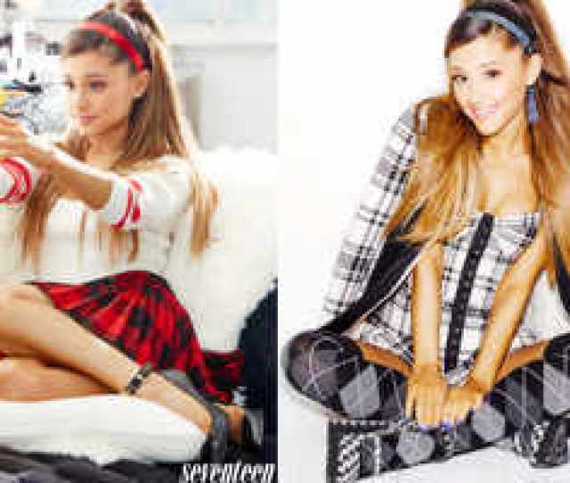 Ariana Grande Gets Into Sexy Schoolgirl Mode For Seventeen Magazine English Movie News Hollywood Times Of India