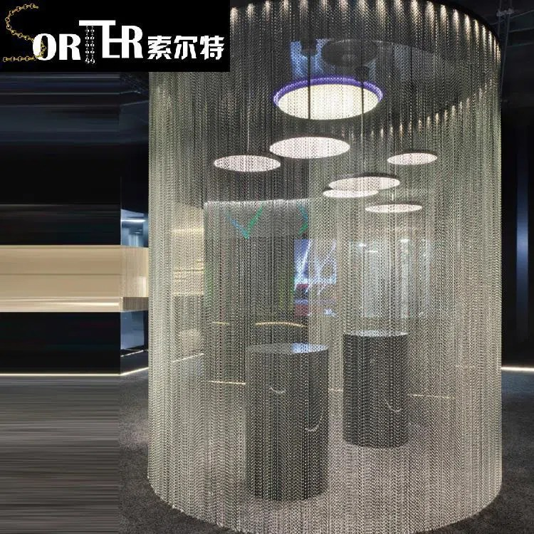 china china factory 8mm silver steel metal ball chain beaded curtain manufacturers and factory customized products wholesale sorter