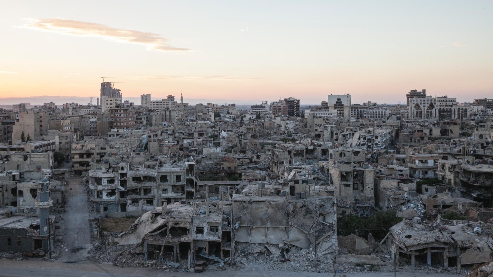 Inside the Battle for Homs, Syria - WSJ