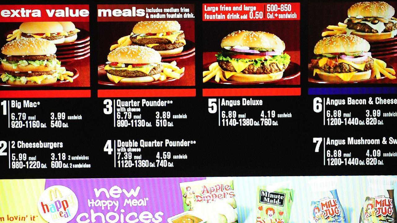 Lunch Menu Mcdonalds Time