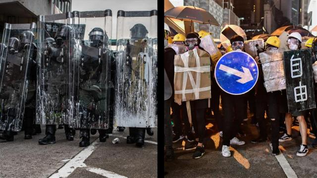 Beijing Backs Hong Kong Police's Handling of Increasingly Violent Protests
