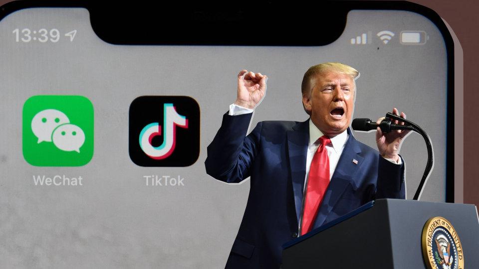 Trump Executive Orders Target TikTok, WeChat Apps - WSJ