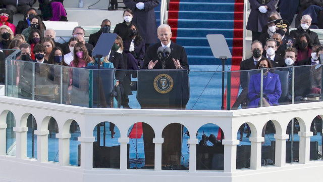 Inauguration 2021: Biden and Harris Sworn In With Calls for Unity