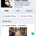 iPhone Facebook App