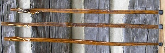 Tobacco Walking Stick by Kentucky Walking Sticks, Woodworking