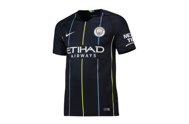 Manchester City's new away kit is reminiscent of one of ...