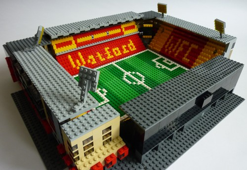 Pictures  Somebody is recreating every Premier League football     VICARAGE ROAD