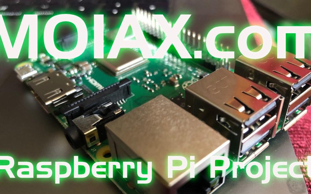 The Raspberry Pi Project | M0IAX