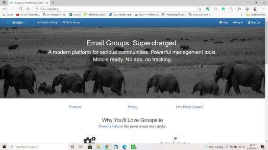Why You'll Love Groups.io - home page