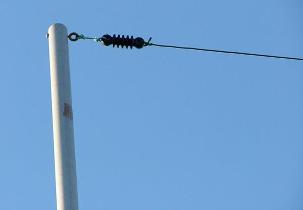 Portable Pvc Antenna Mast By Eli Jw