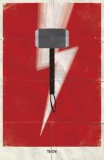 Thor - Marvel Minimalist - poster