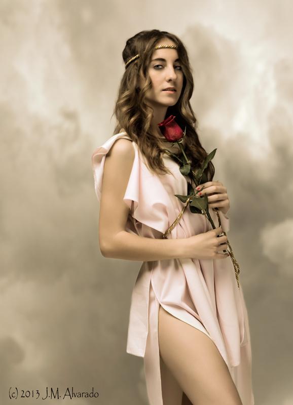 Afrodita (Venus) diosa del amor.