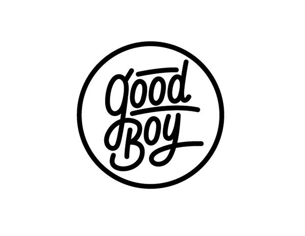 GOOD BOY Logo Amp Character For Gun Shop On Behance