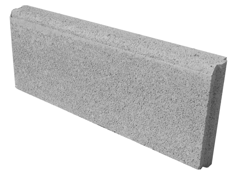bordure droite avec emboitement beton