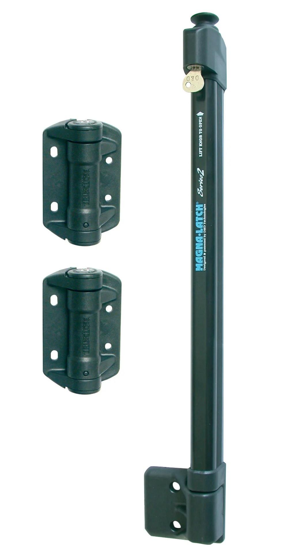 Kit De Verrou Magnetique Magna Latch Series 2 Pour Securiser La Zone De Piscine Leroy Merlin