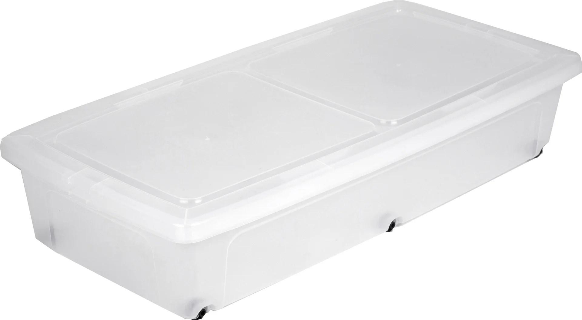 de lit modular clear box plastique