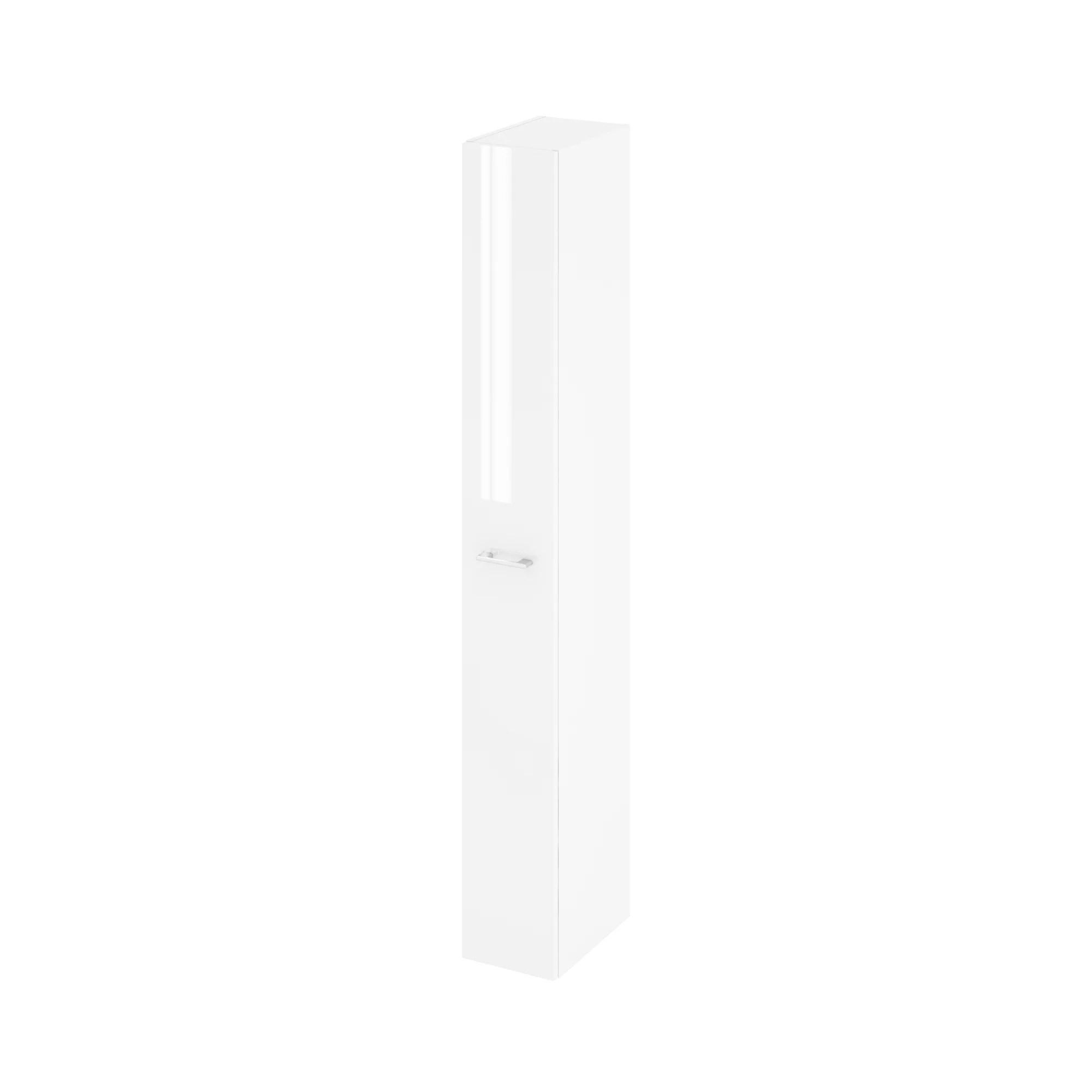 colonne de salle de bains l 22 x h 173 x p 34 8 cm blanc remix