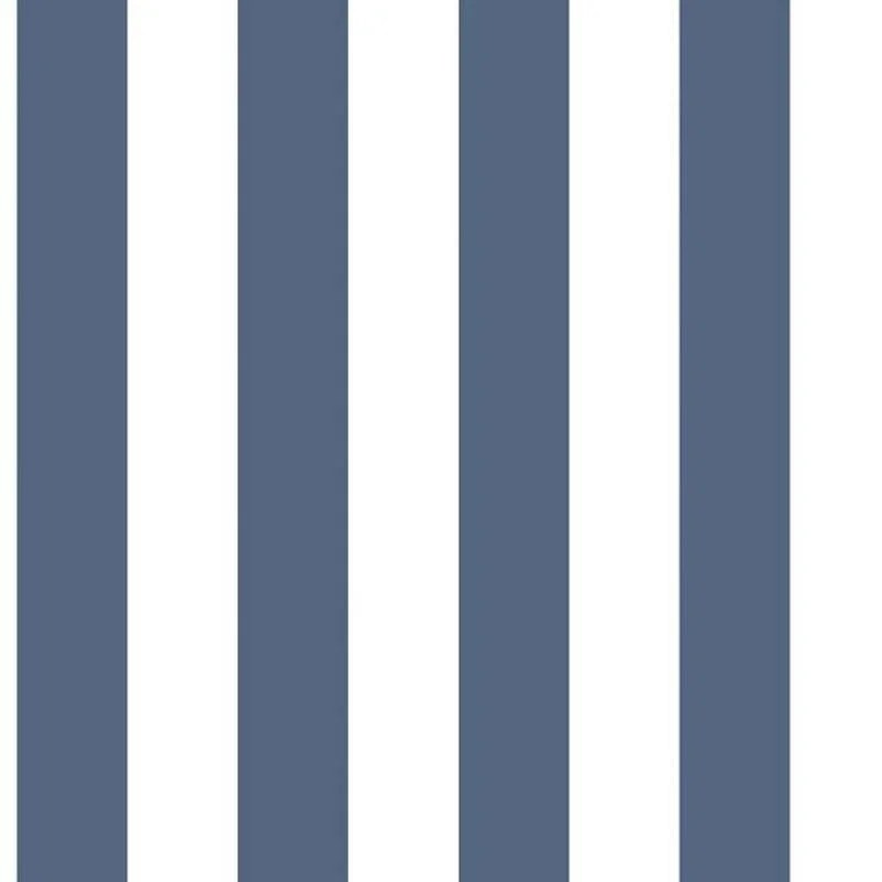 papier peint vinyle rayures bleu blanc