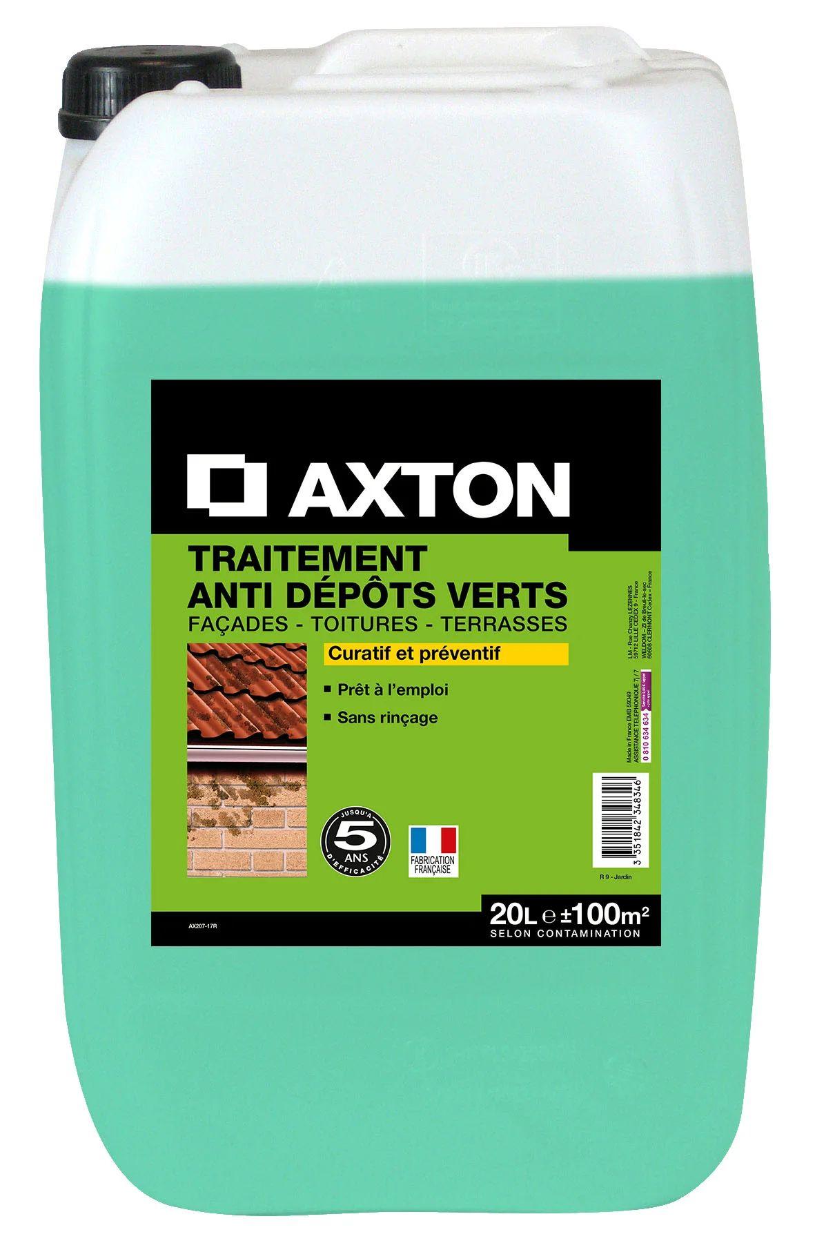 Traitement Anti Depots Verts Axton 20 L Leroy Merlin