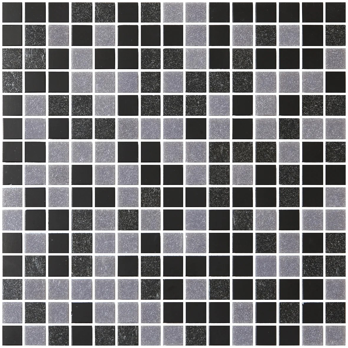Mosaique Mur Pool Noir 32 7 X 32 7 Cm Leroy Merlin