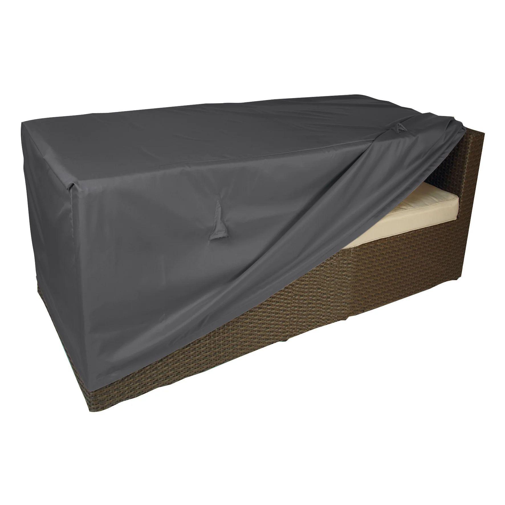 housse de protection pour canape naterial l 130 x l 75 x h 60 cm