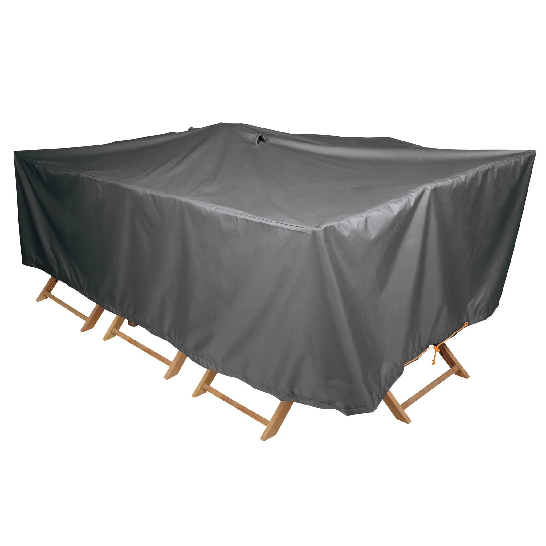 housse de protection pour table naterial l 240 x l 130 x h 60 cm