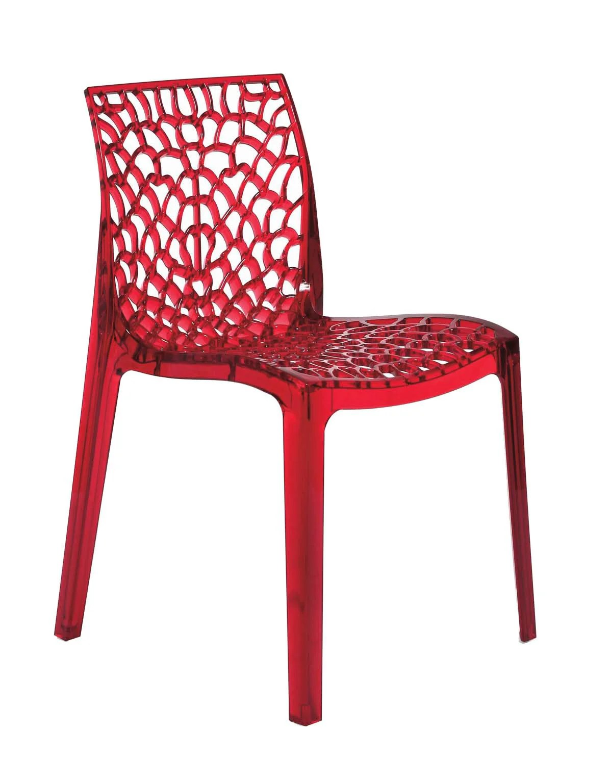 chaise de jardin en polycarbonate