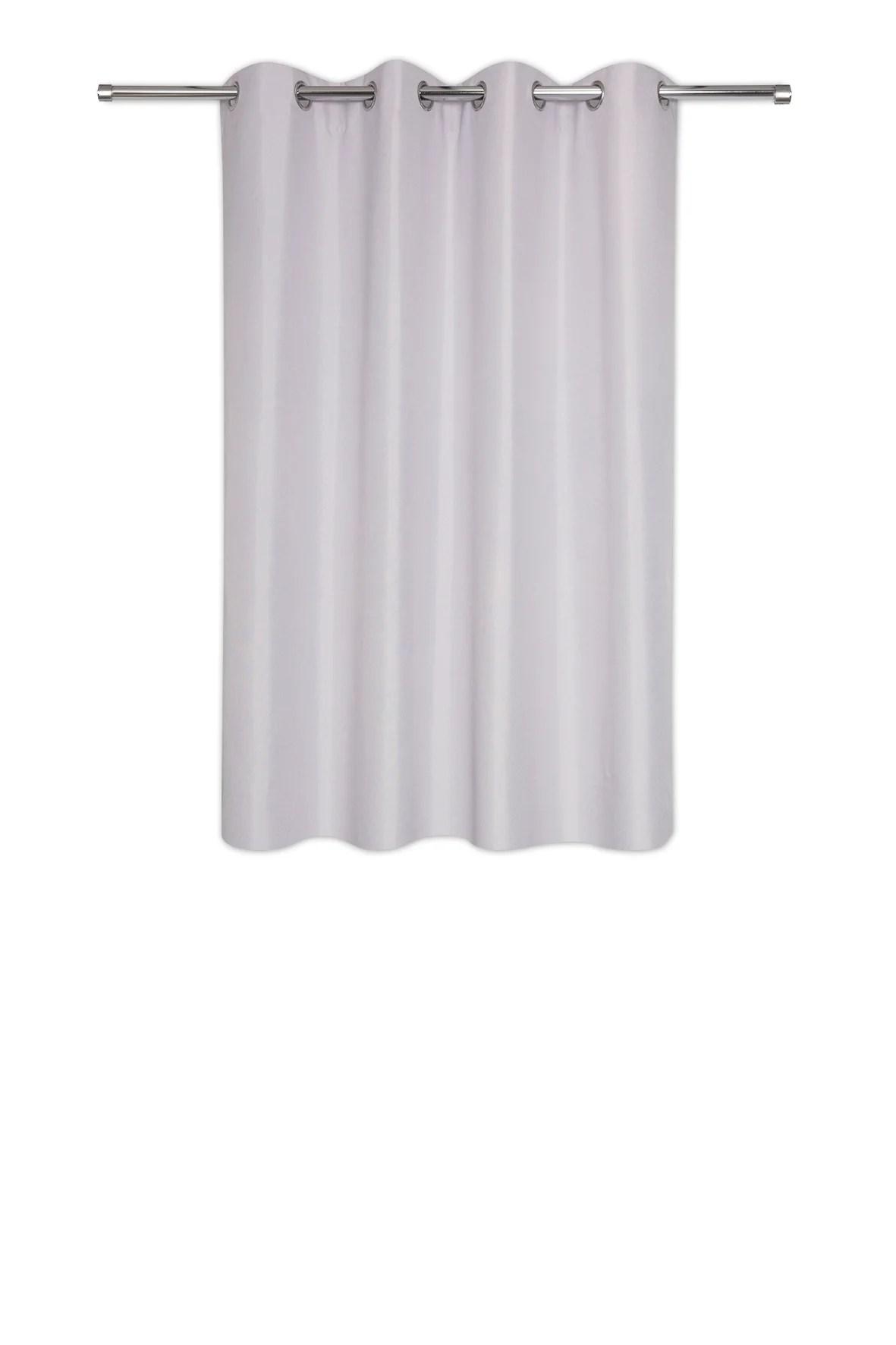 rideau occultant copenhague gris l 140 x h 160 cm
