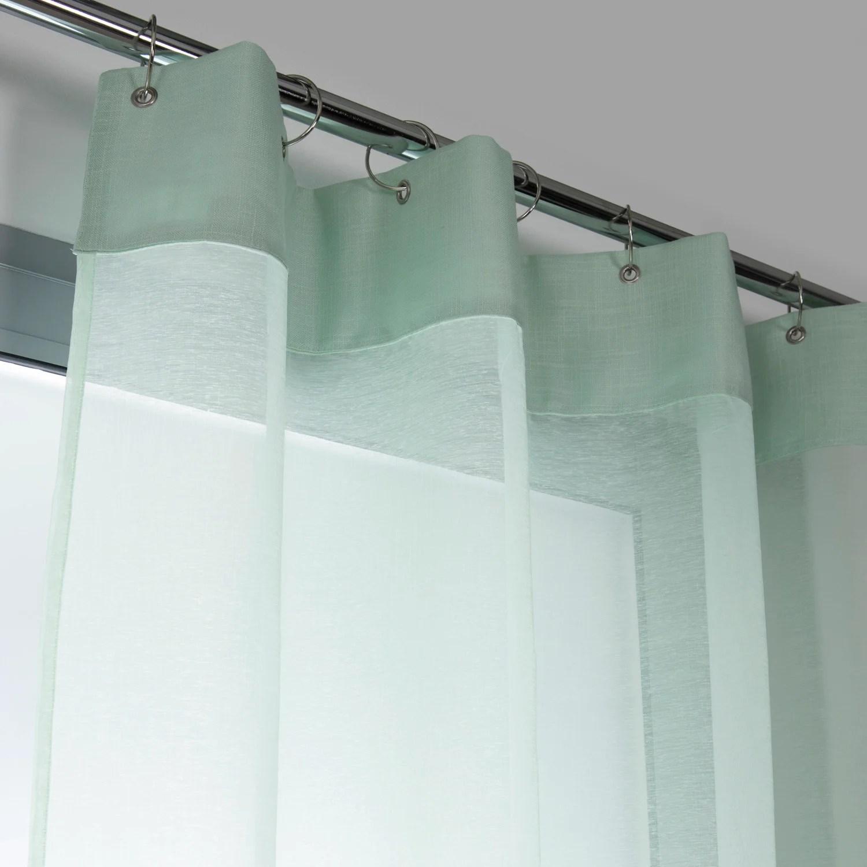 voilage tamisant cleo vert d eau n 6 l